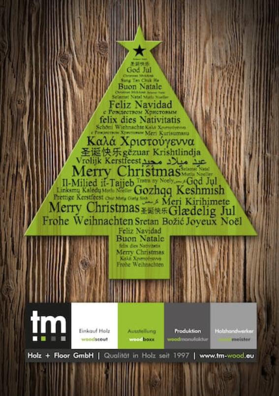 Weihnachtsferien Holz + Floor GmbH Thomas Maile