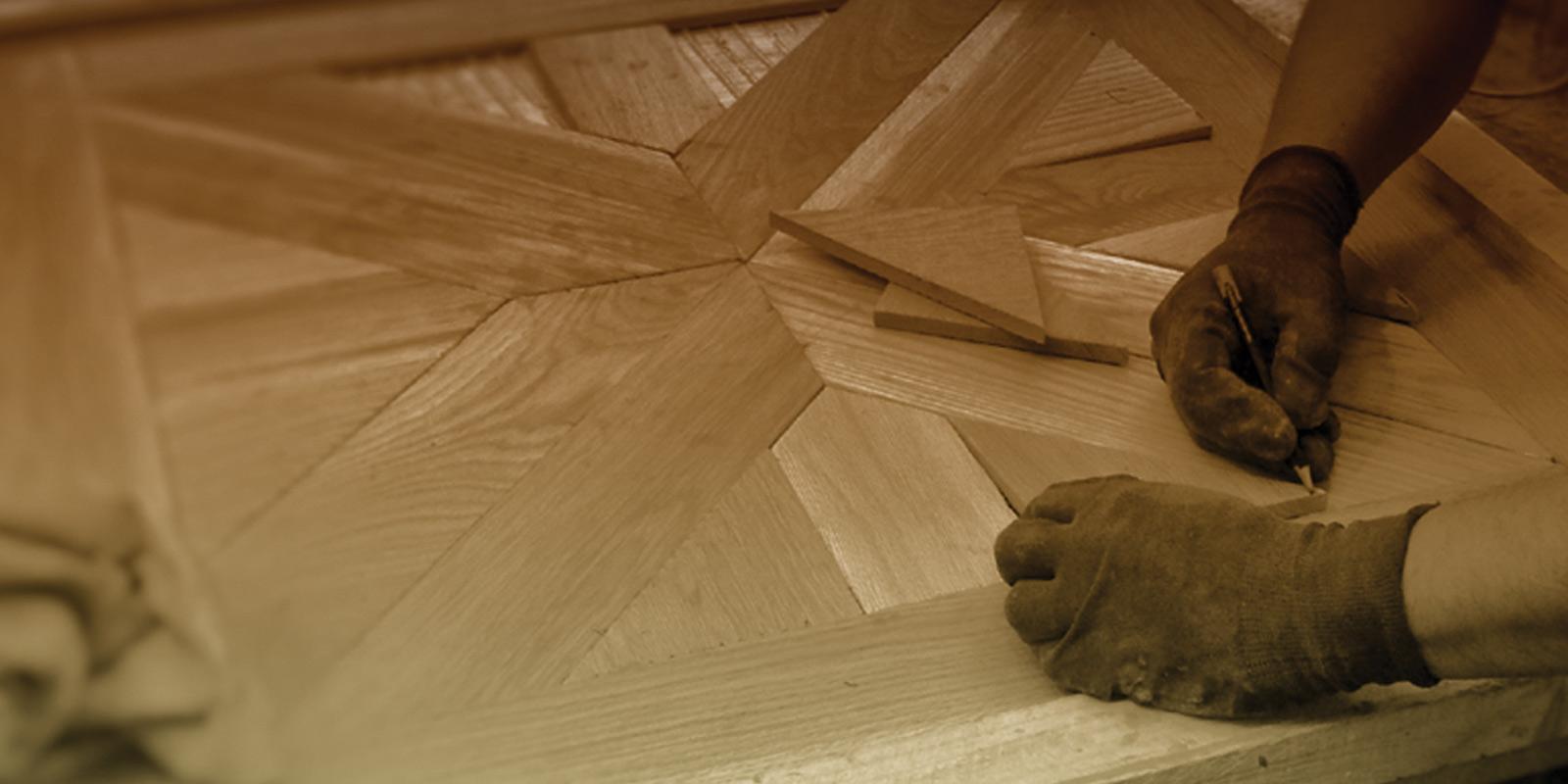 woodmeister Profiverlegung von Parkett